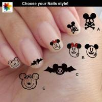 Halloween Disney Nail Art, Cartoon, Childrens Nail Art ...