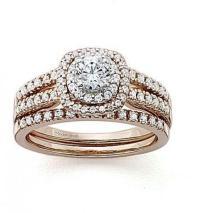 FINE JEWELRY Modern Bride Signature 1 CT. T.W. Diamond 14K ...
