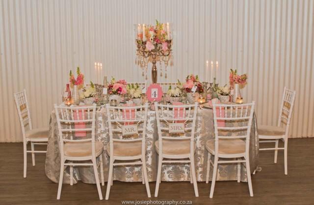 Elegant Vintage Wedding Ideas In Peach Amp Silver Josie