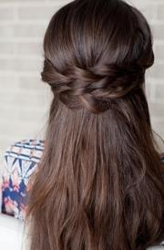 romantic diy braided - bridal
