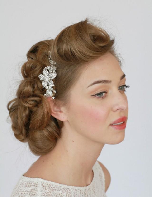 Bridal Headband, Crystal Headband, Rhinestone Headband
