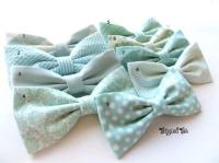 Mint Groomsmen Bow Tie Mix And Match Coordinating Custom ...