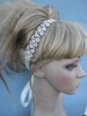 rhinestone bridal headband wedding