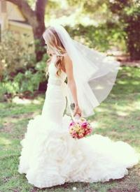Garden Wedding - Bridal Hair Inspiration #2216759 - Weddbook