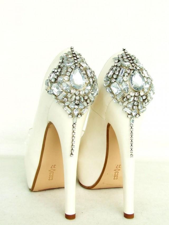 Cinderellas Dream Shoes  Swarovski Wedding Shoes