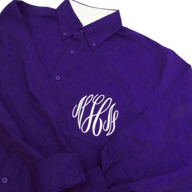 monogrammed bridesmaid shirts