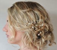 Customised Bridal Hair Pins, Wedding Hair Accessories