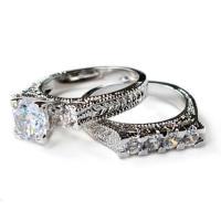Cz Ring, Cz Wedding Ring, Cz Engagement Ring, Wedding Ring ...