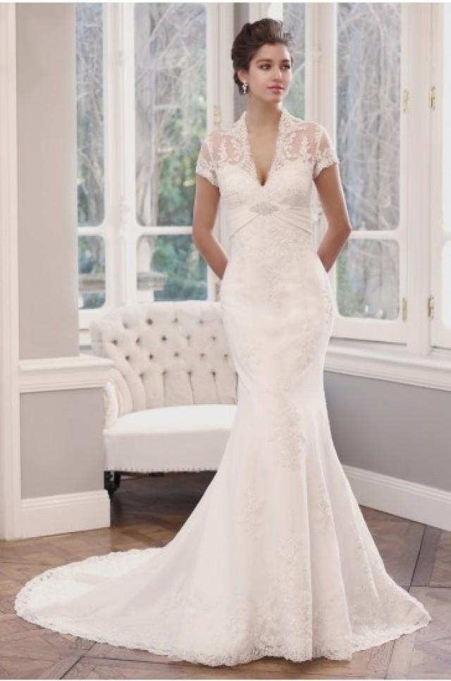 Mia Solano Lace Slim Aline Wedding Dress 2284595  Weddbook