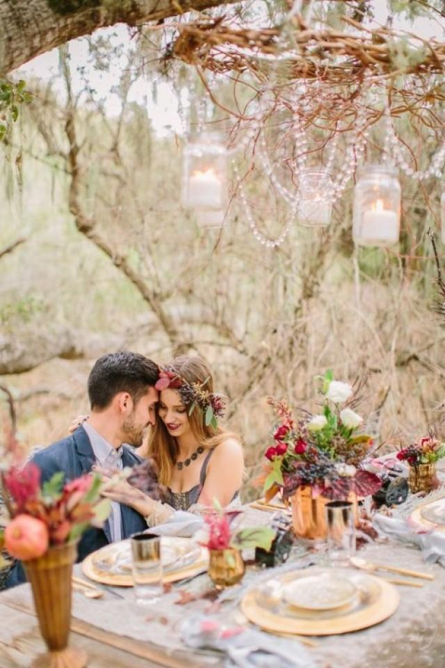 44 Dreamy Woodland Boho Chic Wedding Ideas  Weddingomania  Weddbook