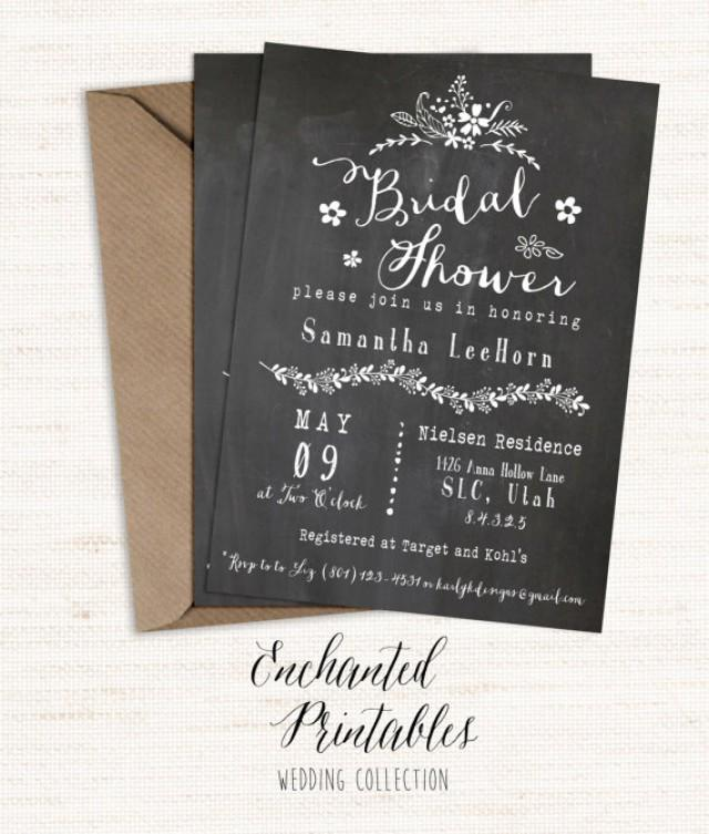 Vintage Invitations Bridal Shower