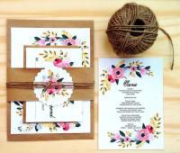 Printable Wedding Invitation Set, Instant Download ...