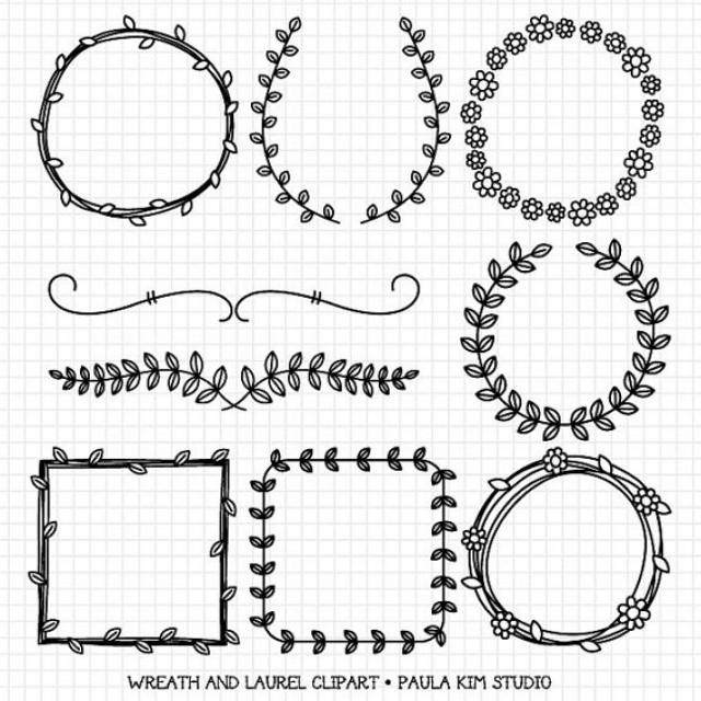 Vintage Decor Vector Elements