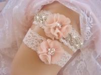 Vintage Bridal Garter, Wedding Garter Set, Lace Garter ...