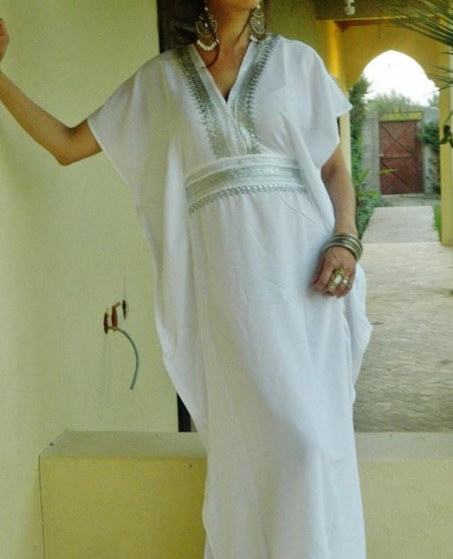 Bridesmaid Gifts Bridesmaid Robe White Marine One Size