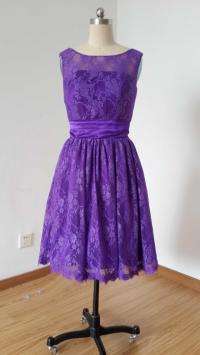 Purple Lace Bridesmaid Dresses | www.imgkid.com - The ...