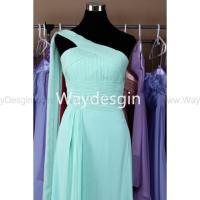 Bridesmaid Dresses Tiffany Blue Chiffon Light Blue ...