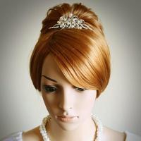 AUDREY, Vintage Style Wedding Bridal Tiara, Victorian ...