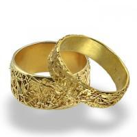Wires Weddings Band Set, Wedding Rings, Women Wedding Band ...