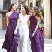 Bridesmaid Dress Infinity Convertible Dress Long Maxi ...