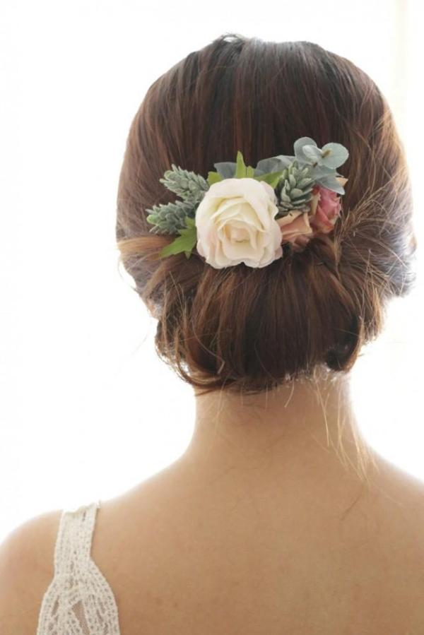 30 Winter Wedding Hairstyles With Rose Hairstyles Ideas Walk