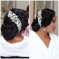 My Wedding Nigeria Bridal Hair Inspiration - Weddbook