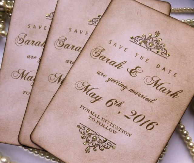 Save The Dates Wedding Save The Dates Luxury Save The