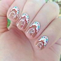 Easy & Simple Christmas Nail Art Designs - Real Hair Cut ...