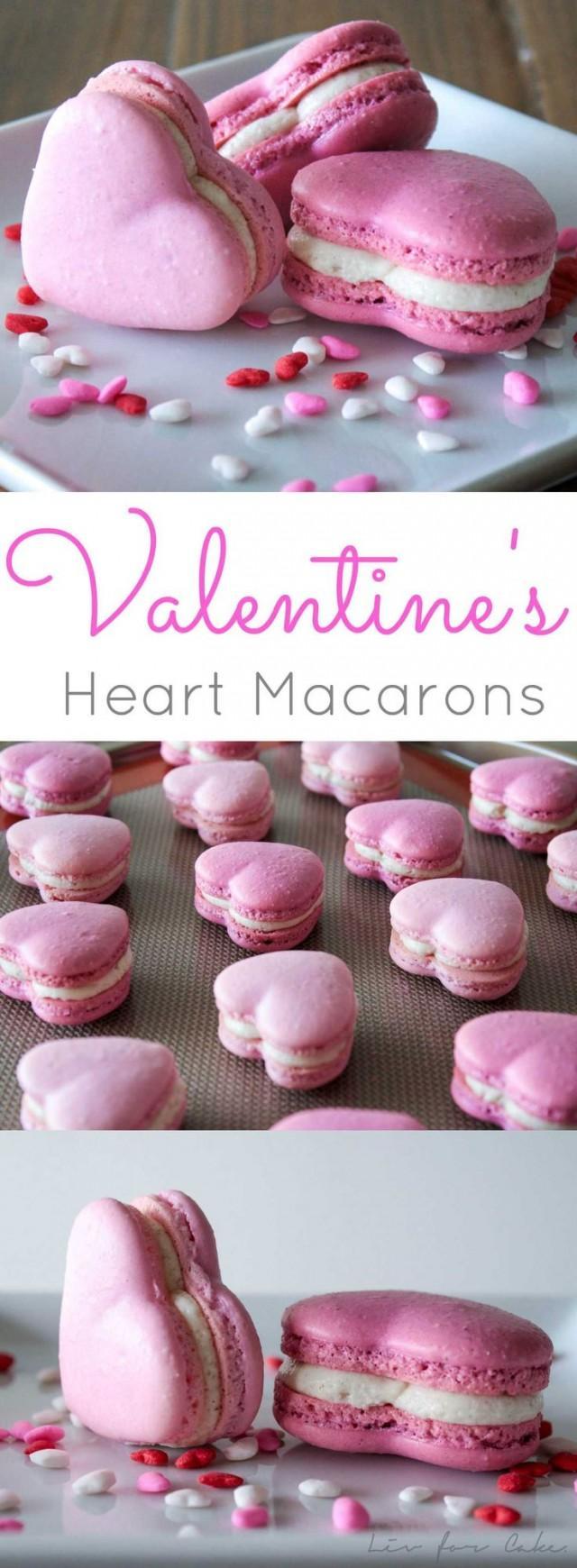 Hochzeits Thema Valentines Heart Macarons 2487511