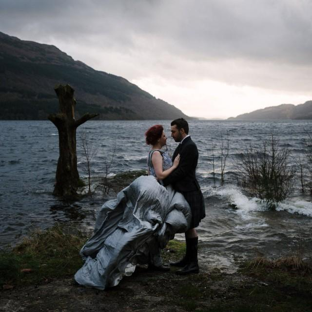 Intimate Winter Wedding In The Scottish Highlands Weddbook