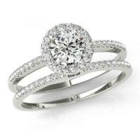 Michael Raven Wedding Sets - 1 Carat Forever One ...