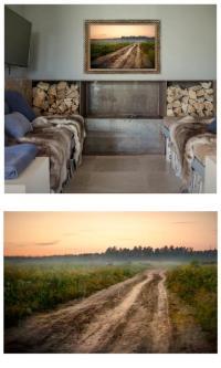Cottage Wall Art, Russian Landscape Photography, Large Art ...