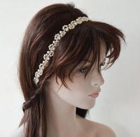 Bridal Headband, Wedding Pearl Hair Accessories, Wedding ...