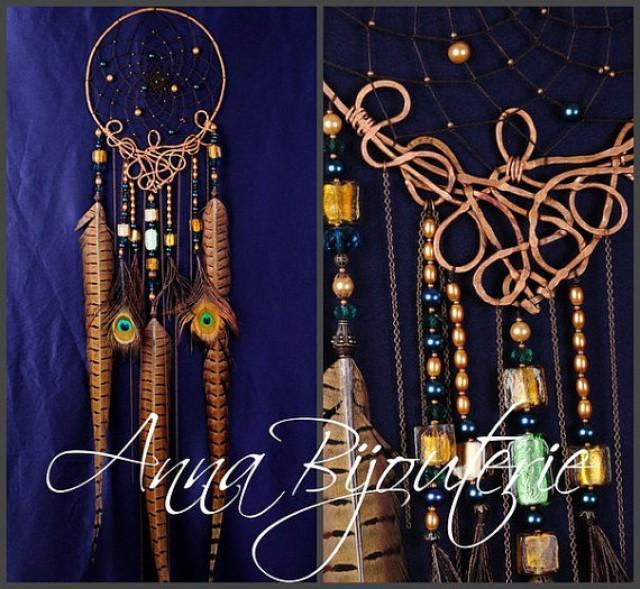 Dreamcatcher IZIDA Copper Gift Idea Dream Catcher Dream