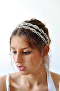 Art Deco Victorian Wedding Hair Accessories, Bridal Oval ...