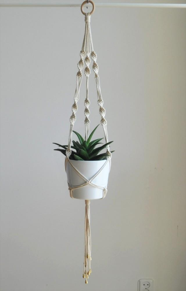 Wedding Plant Hanger Macrame Plant Hanger Boho Wedding