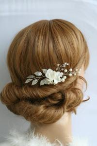 Wedding Hair Pins Bridal Hair Pins Flower Hair Pins Bridal