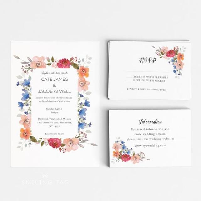 Wedding Invitation And Rsvp Card Sizes. Wedding. Inspiring wedding ...