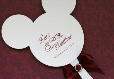 Disney Themed Wedding Favors