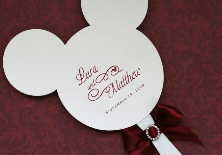 Disney Themed Wedding Favors