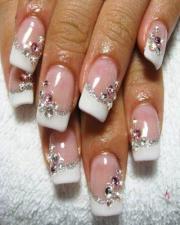 wedding nail design - art