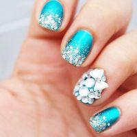 Glamorous Wedding - 26 Glamorous Nail Art Designs #2030388 ...