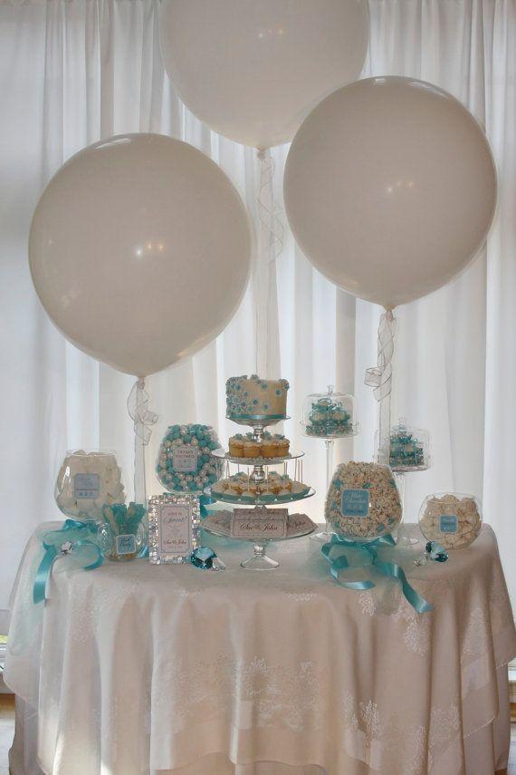 Elegante TiffanyBlauBonbons Oder Dessert Buffet Package
