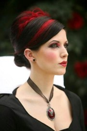 gothic wedding - red and black