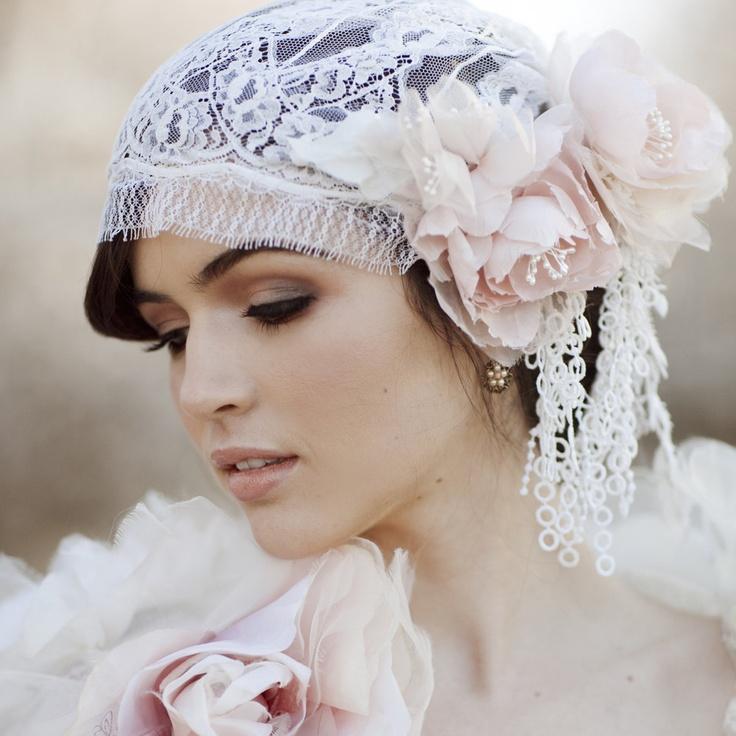 juliet bridal cap bridal veil wedding hair piece silk veil chantilly lace style 740