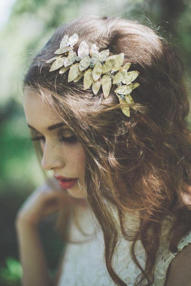 wedding nail designs - bridal hair accessories #2041196