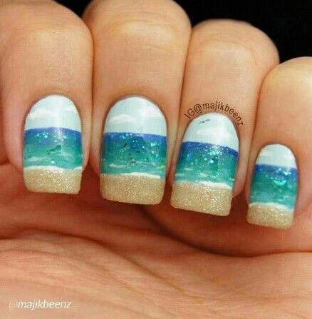 wedding nail designs beach nail weddbook