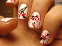 Oriental Wedding - Cherry Blossom Nails #2055877 - Weddbook