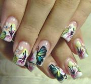 wedding nail design - beautiful