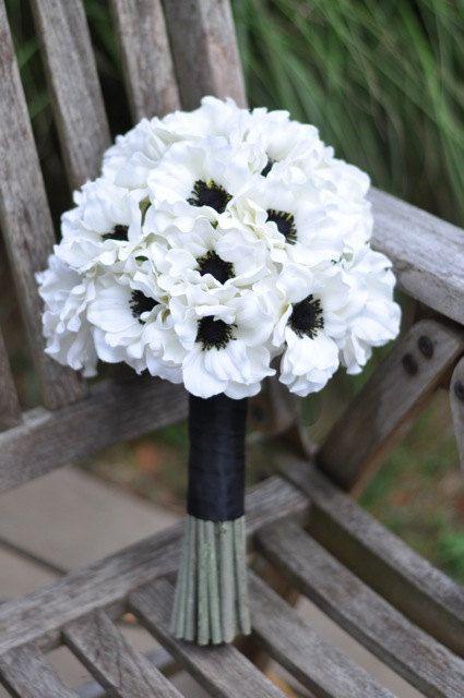 Hochzeit Blumen Brautstrauss Andenken Blumenstrau Brautstrau BrauthochzeitsWei Anemone